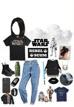 Star Wars mega fan