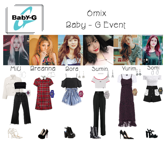 《6mix》Baby-G Event