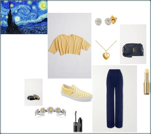 Starry Night Van Gogh Challenge