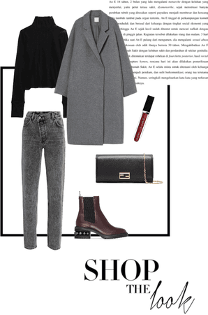 grey autumn outfit 🍂
