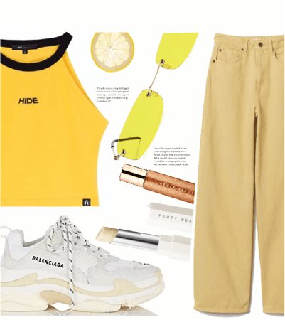 Yellow fenty