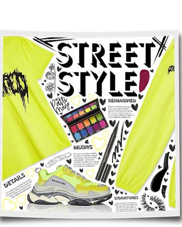 Neon Street Style 🙌🏽