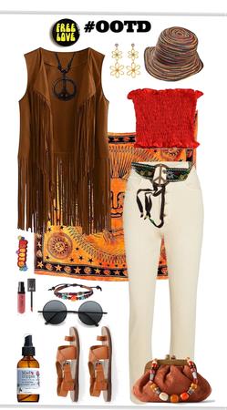 #OOTD Hippie Style