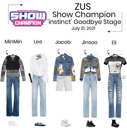 ZUS//'instinct' Show Champion Goodbye Stage
