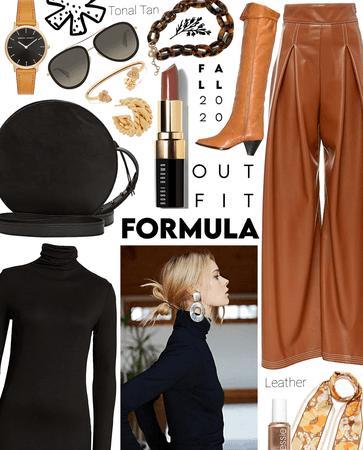 tonal tan leather
