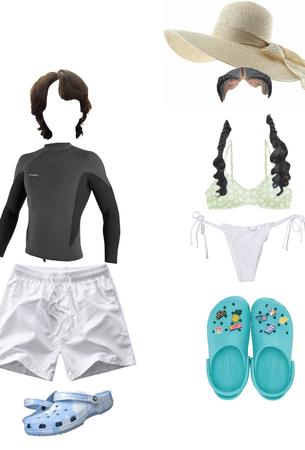 swim wear outfit