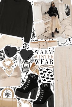 Neutral Winter Wear