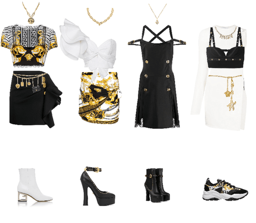 versace stage outfit