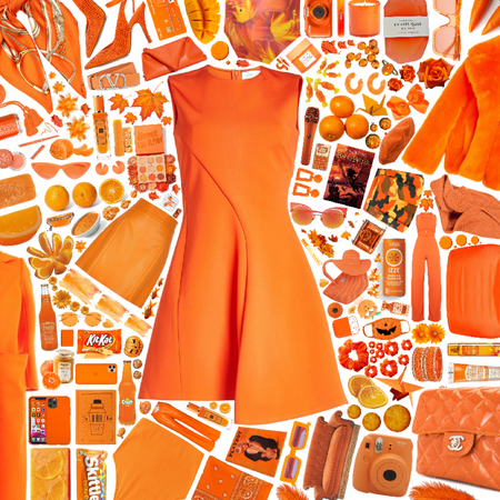 All in Orange