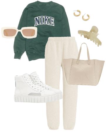 green Nike