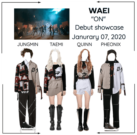 WAEI II ON DEBUT SHOWCASE