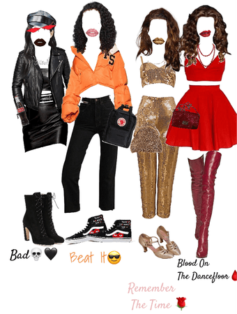 Michael Jackson songs into Outfits *Pt.1*