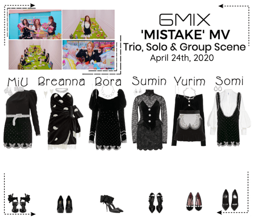 《6mix》'MISTAKE' Music Video