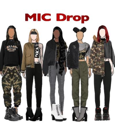 BTS: mic drop