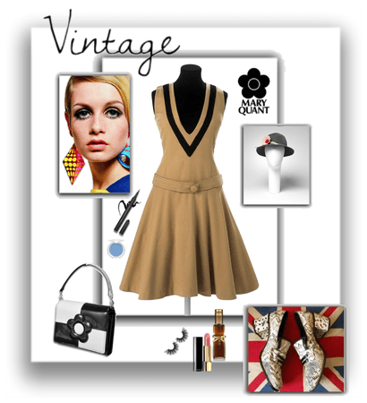 Mary Quant Style with Twiggy Vibes