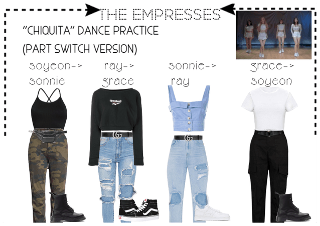 "[THE EMPRESSES] ""CHIQUITA"" PART SWITCH"
