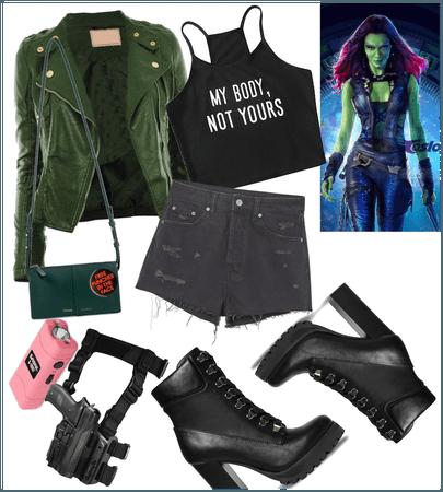 Gamora 💚❤️🔥