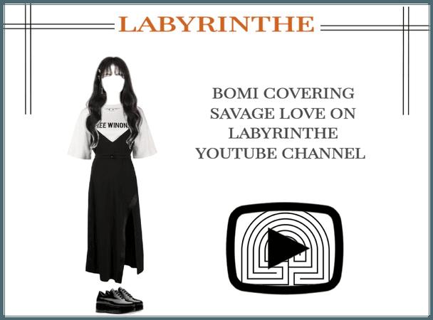 LABYRINTHE BOMI SAVAGE LOVE COVER