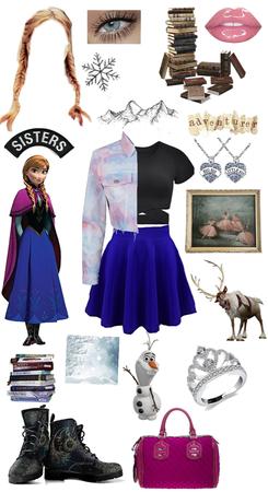 Princess style: Anna