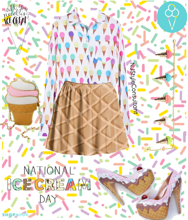 National Ice Cream Day!!