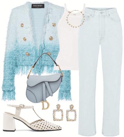 Balmain tweed