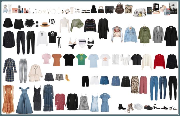 gala's capsule wardrobe