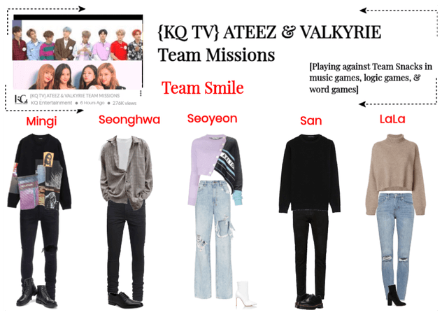{KQ TV} ATEEZ & VALKYRIE TEAM MISSIONS