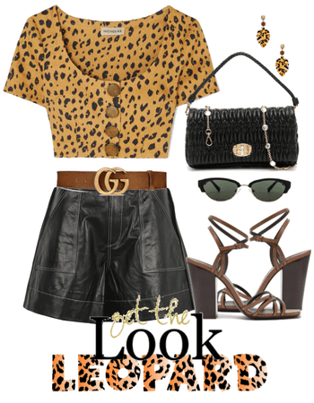 Trend Now: Leopard & Leather