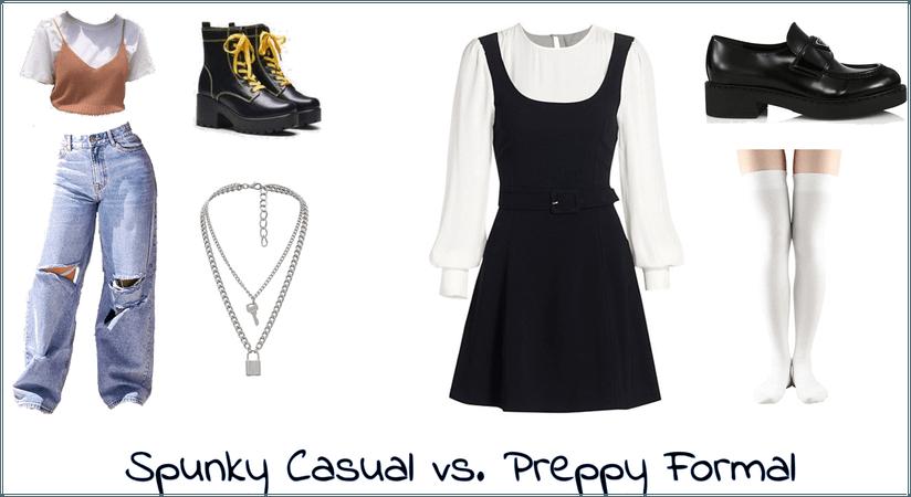 casual vs. preppy