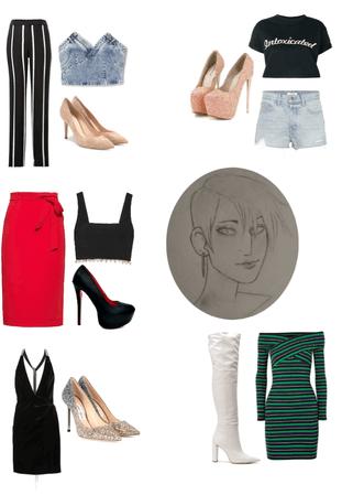 Heike Outfits