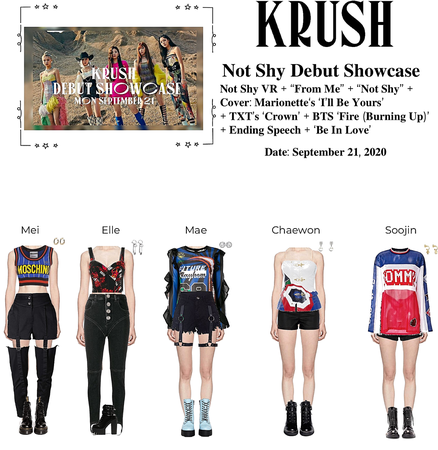 KRUSH Not Shy Debut Showcase