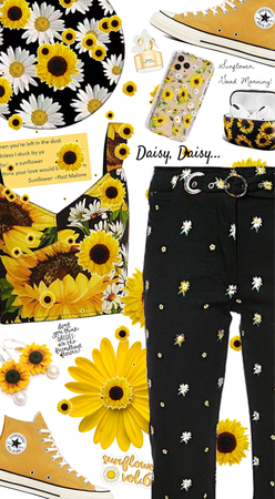 Good Morning, Sunflowers and Daisies!
