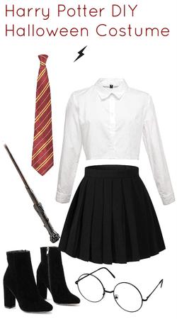 Harry Potter DIY Halloween costume