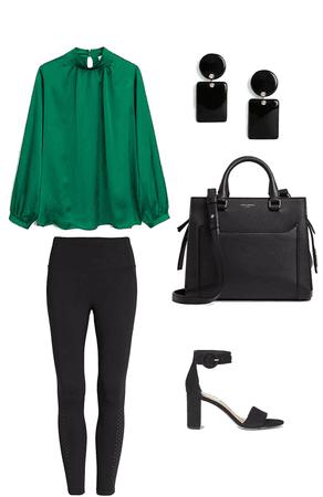 black&green