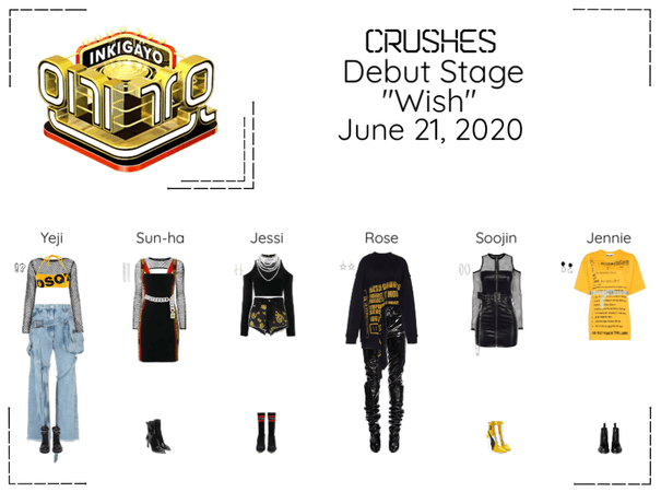 """Crushes (호감) """"소원 (Wish)"""" Debut Stage"""