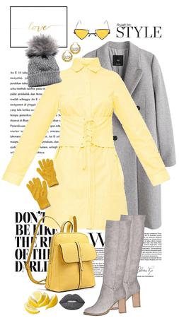 Pantone Yellow And Gray 2021