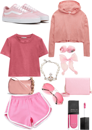 all out of pink