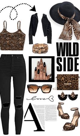 Wild side🖤🐆🤎