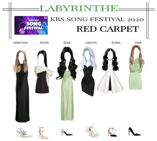 LABYRINTHE kbs song festival 2020 red carpet