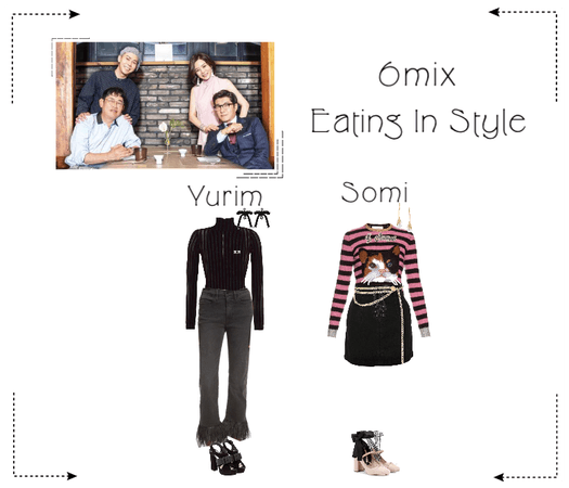 《6mix》Eating In Style