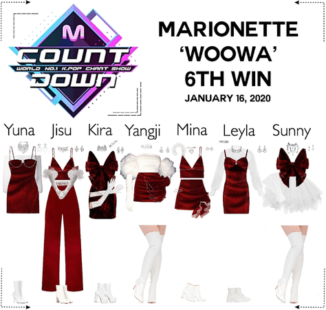 MARIONETTE (마리오네트) [MCountdown] 'WOOWA' Live Performance