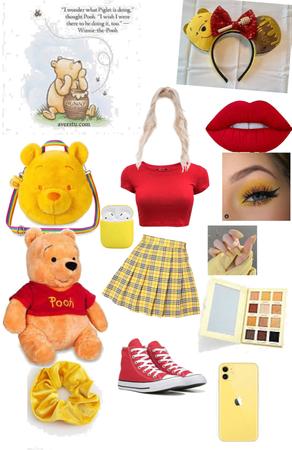 Disney bound Winnie the Pooh 💛🍯
