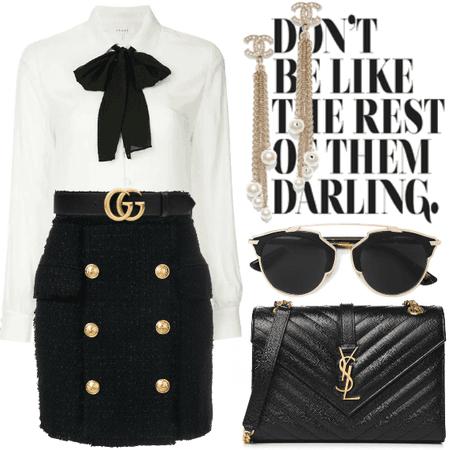 Gucci, Chanel & Balmain.