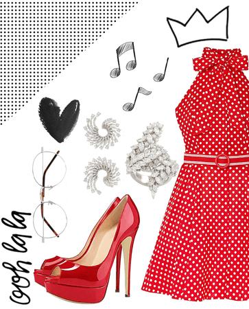 red polkas