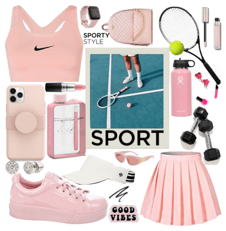 Sporty Style Challenge ft Light Pinnk