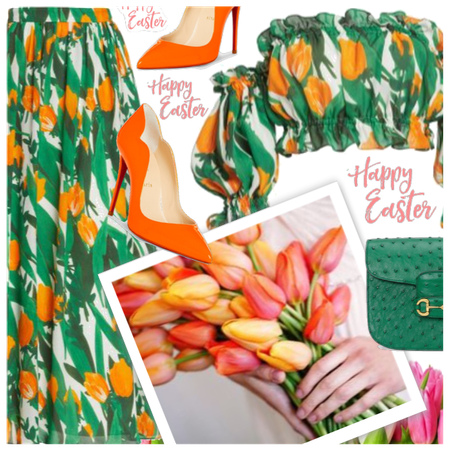 Easter brunch style
