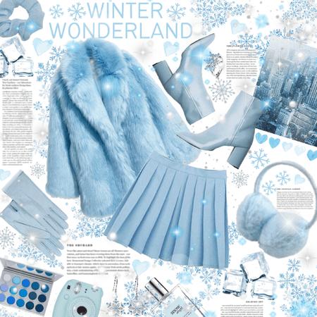 Winter Wonderland: Monochrome ❄️🥶💙🤍