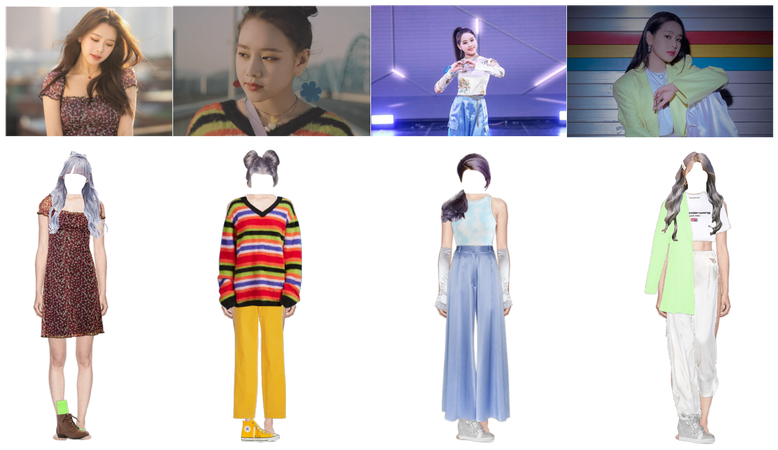 """""""Nineteen"""" Outfits"""