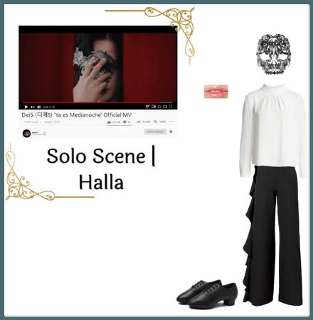 Dei5 Ya es Medianoche MV | Halla Solo Scene