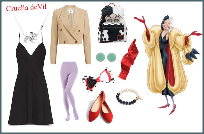 Cruella de Vil outfit - Disneybounding
